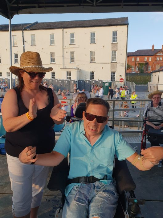 Glen Caring's recent services respite day out to the 'Country Comes to the City' event at Ebrington Square, Derry~Londonderry
