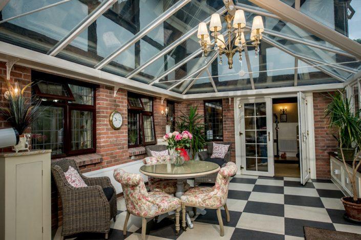 Conservatory in Hillside Nursing Home Omagh